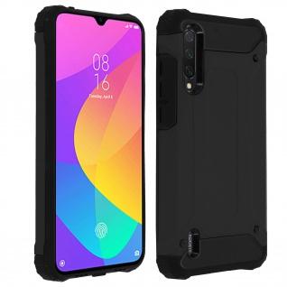 Defender II schockresistente Schutzhülle Xiaomi Mi 9 Lite - Schwarz