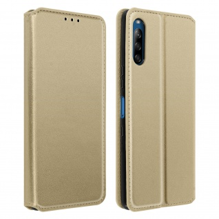 Kunstleder Cover Classic Edition Sony Xperia L4 - Gold