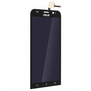 Ersatzdisplay für Asus Zenfone 2 ZE550ML, Komplettset mit Touchscreen Schwarz