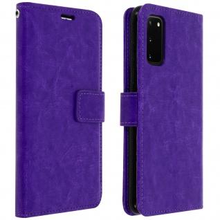 Flip Cover Stand Case Brieftasche & Standfunktion Samsung Galaxy S20 � Violett