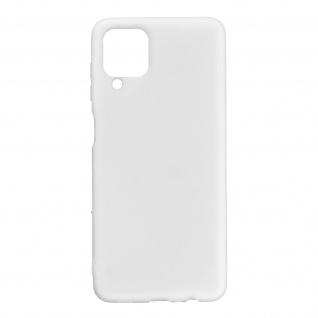 Samsung Galaxy A12 Soft Touch Silikonhülle, soft case ? Weiß
