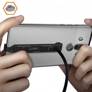 USB-C/ USB 2A Ständer 180° 1.5m Gaming Ladekabel, Kabellänge: 1.5m - USAMS