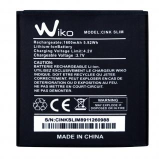 1600 mAh Ersatzakku passend für Wiko Cink Slim