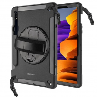 Hülle, Griff / Ständer, 4Smarts für Samsung Galaxy Tab S7 11.0 â€? Schwarz