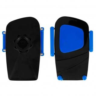 Kfz-Halterung für Smartphones Saugnapf + Lüftungshalterung - Blau - Vorschau 2