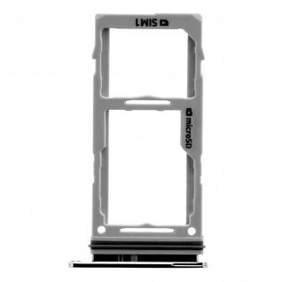 1x SIM + 1x Micro-SD Kartenhalter Ersatzteil für Samsung Note 10 Lite ? Schwarz