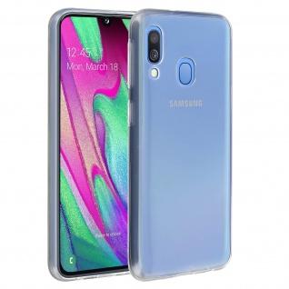 Samsung Galaxy A40 Schutzhülle Backcover Silikon by Akashi - Transparent