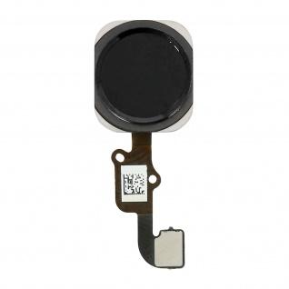 Ersatzteil Home Taste mit Flexkabel für Apple iPhone 6 Plus Schwarz