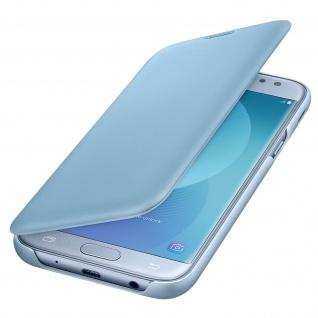 Original Samsung Flip-Schutzhülle Wallet Cover für Samsung Galaxy J5 2017 - Blau
