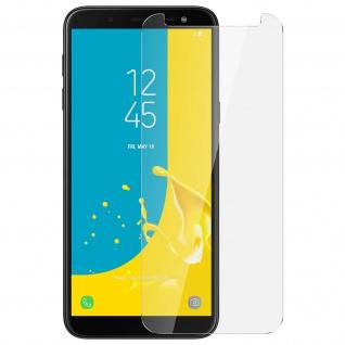 Displayschutzfolie aus gehärtetem Glas für Samsung Galaxy J6 - 9H Härtegrad