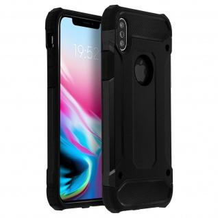 Defender II schockresistente Schutzhülle (1, 80M) für Apple iPhone X - Schwarz