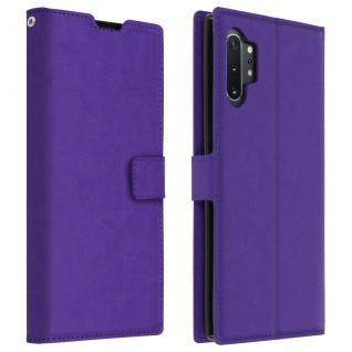 Flip Cover Stand Case Brieftasche & Standfunktion Galaxy Note 10 Plus - Violett