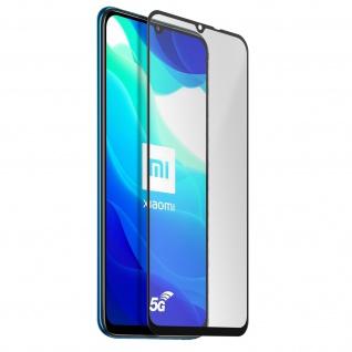 Akashi 9H Displayschutzfolie für Xiaomi Mi 10 Lite - Rand Schwarz