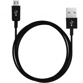 USB auf Micro-USB Ladekabel (Aufladen und Synchronisierung) - 3Meter - Schwarz