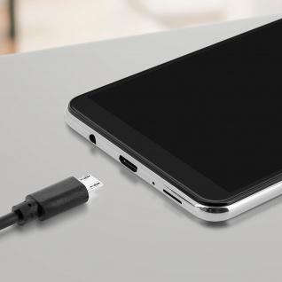 USB 2.0 Micro-USB Ladekabel, Quick Charge Aufladen & Sync. 1.2 m ? Schwarz - Vorschau 4