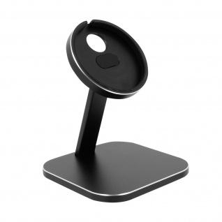 Magsafe iPhone Charger Desk Mount, Aluminium Handyhalterung - Schwarz