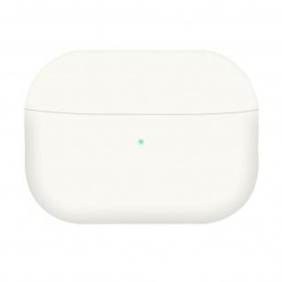 AirPods Pro Silikonhülle mit Soft-Touch Oberfläche, QI-Kompatibel - Weiß