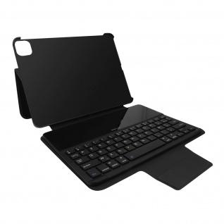 Apple iPad Air 2020 / Pro 11 2021 Case Azerty Tastatur, Gecko Covers ? Schwarz
