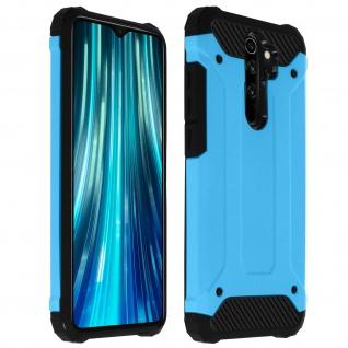 Defender II schockresistente Schutzhülle Xiaomi Redmi Note 8 Pro - Blau