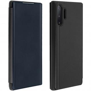 Samsung Galaxy Note 10 Plus Cover mit Spiegeleffekt & Standfunktion � Schwarz