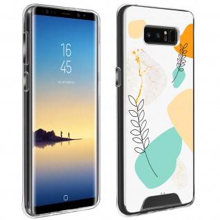 Handyhülle für Samsung Galaxy Note 8, Made in France ? Lorbeerblatt Design