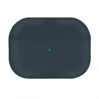 AirPods Pro Silikonhülle mit Soft-Touch Oberfläche QI-Kompatibel - Anthrazitgrau