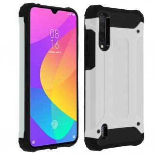 Defender II schockresistente Schutzhülle Xiaomi Mi 9 Lite - Silber