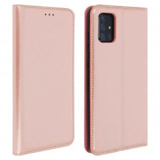 Klappetui mit Kartenfächern & Standfunktion Samsung Galaxy A71 - Rosegold