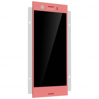 LCD Komplettset Sony Xperia XZ1 Compact + Touchscreen - Rosa