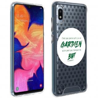Handyhülle für Samsung Galaxy A10 / M10, Made in France ? Torhüter Design