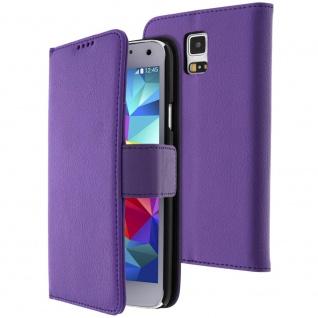 Flip-Schutzhülle mit Standfunktion Samsung Galaxy S5/ Galaxy S5 Neo - Violett