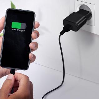 USB / Lightning Kabel, Lade- und Synchronisationskabel, 1m - Schwarz - Vorschau 4