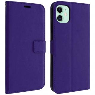 Flip Cover Stand Case Brieftasche & Standfunktion Apple iPhone 11 - Violett
