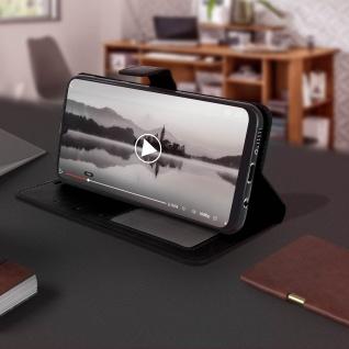 Flip Stand Cover Brieftasche & Standfunktion für Samsung Galaxy A50 - Schwarz - Vorschau 4