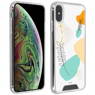 Handyhülle für Apple iPhone XS Max, Made in France ? Lorbeerblatt Design