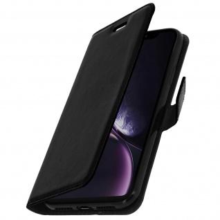 Flip Stand Cover Brieftasche & Standfunktion Apple iPhone XR - Schwarz - Vorschau 2