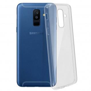 Samsung Galaxy A6 Plus Schutzhülle Silikon ultradünn (0.30mm) - Transparent