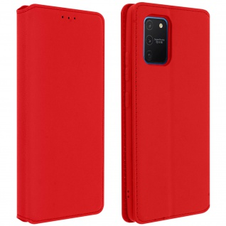 Kunstleder Cover Classic Edition Samsung Galaxy S10 Lite - Rot