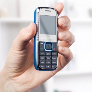 Evelatus EM01 DUAL SIM Handy, Micro-USB Anschluss - Schwarz - Vorschau 3