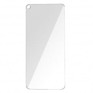 Google Pixel 5 3mk flexible stoßfeste Schutzfolie aus 7H Glas, transparent