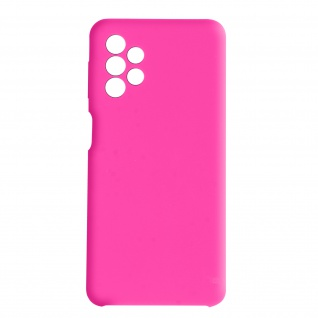 Venus Series halbsteife Soft-Touch Silikonhülle für Samsung A32 5G ? Rosa