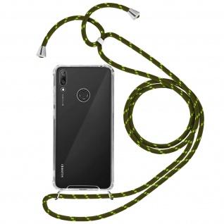 Handykette Handyhülle mit Halsband für Huawei Y7 2019 ? Grün
