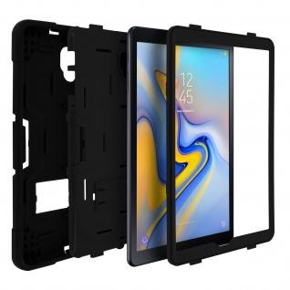 Samsung Galaxy Tab A 10.5 silikon stoßfeste Schutzhülle ? Schwarz / Schwarz