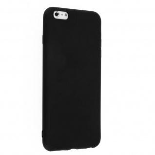 Apple iPhone 6 Plus, 6s Plus schwarze ultradünne Schutzhülle aus Silikon
