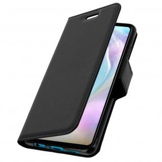 Flip Stand Cover Brieftasche & Standfunktion für Huawei P30 - Schwarz - Vorschau 2