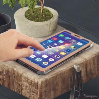 Smart View Flip Cover, Klappetui für Huawei P Smart Plus - Rosegold - Vorschau 4