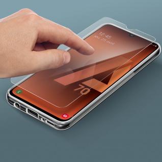 360° Protection Pack für Galaxy A70: Cover+ Displayschutzfolie, Transparent - Vorschau 3
