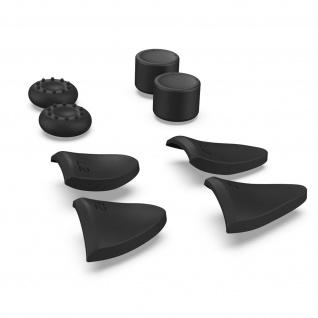 PS5 Dualsense Controller-Zubehör-Kit: Verlängerungen + Daumengriffe - Schwarz