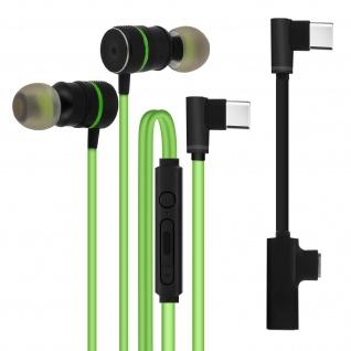 Gaming Kabelgebundene USB-C In-Ear Kopfhörer Magnetisch ? Grün