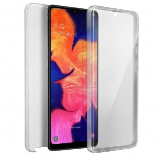 Schutzhülle für Samsung Galaxy A10, Vorder- + Rückseite ? Transparent